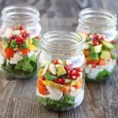 5 ensaladas en bote