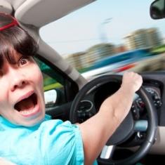 Aventuras y desventuras de una madre en el coche