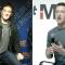 Mark Zuckenberg y otra cosa a su izqueirda