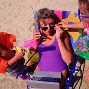 Aventuras y desventuras de una madre en la playa