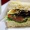 sandwich veggie melt del steak 'n shake